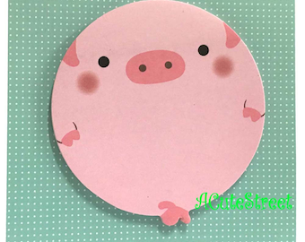 Pig Post IT Notes Sticky Memo SM102028