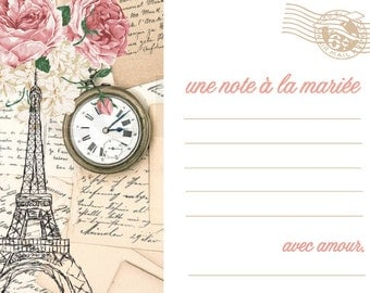 Paris Love notes