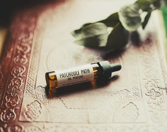 Patchouli Perfume Oil | Natural Perfume | Mysterious, Sensual, Floral, Indulgent | Women's Perfume | Patchouli Path