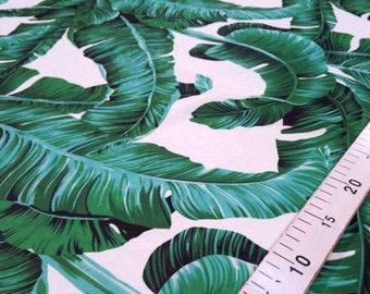 Banana Leaf Fabric Etsy