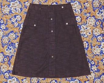Nutshell Vintage Mod Style A-Line Skirt