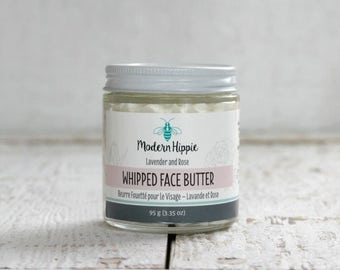 Whipped Face Butter - Rose Geranium, Lavender & Chamomile