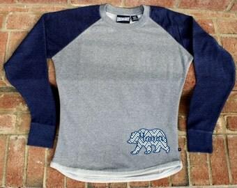 Mama Bear Sweatshirt~Appliqué Sweatshirt~Mama Bear Appliqué Sweatshirt~Pennant Sweatshirt