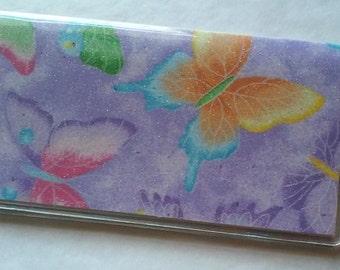 Butterflies Checkbook Cover