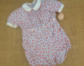 Toddler Romper Vintage, Made in Italy