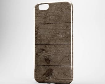 Wood iPhone Case Gift for Him iPhone 7 Case Galaxy Wood Case iPhone 6 Wooden iPhone 7 Plus Cover Xperia Case iPhone 6S Plus, Old Wood iPhone