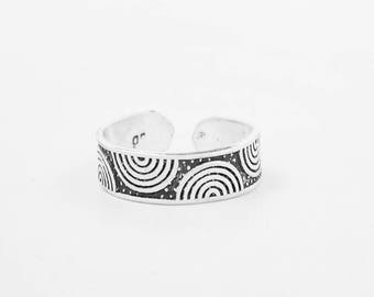 Stirling Silver Knuckle Ring