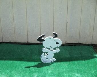Peanuts Snoopy Yard Sign