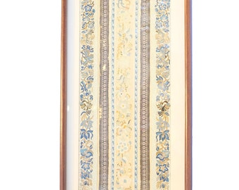 Chinese Couche Gold Thread Embroidery