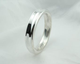 Beautiful Large Aires's 925 Vintage Hollow Sterling Silver Bangle Bracelet #AIRESS-BB4