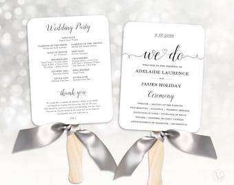 wedding fans wedding program template fan wedding program diy kraft wedding programs