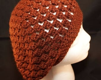 READY TO SHIP Red Slouchy Hat