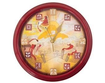 Journey - 3D Wall Clock -  Gamer Decor -  Video Game Wall Art - Video Game Decor - Video Game Wall Clock - Gamer Gift