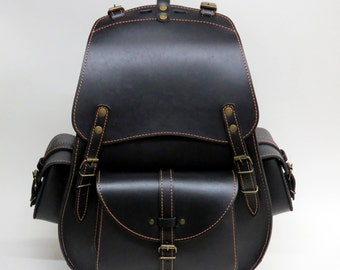 Genuine Leather Bag, Leather Backpack, Genuine Leather Backpack, Travel Backpack, Bike Backpack, School Backpack,Laptop Backpack,Medium Size
