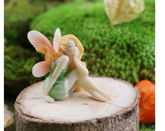 Fairy Garden  - Fairy Daydreaming - Miniature
