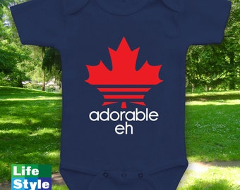 Adorable Eh Kids Baby Adult Shirts, Canadian Shirt, Canada Day Shirt, When is Canada Day,Canada Day 2017, Etsy Deals, Canadian Onesie CT-973
