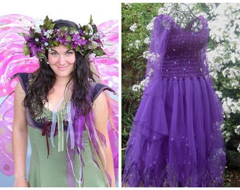 Woman's  Fairy  Dress ~   Festival Costume ~ Tea Party ~ Theatre ~ Independence Day  Parade ~ Masquerade~ Bachelorette Party~ Ren Faire