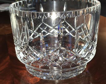 Vintage Cut Crystal Bowl