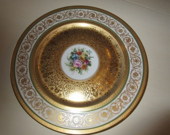 BAVARIA Selb H and C Plate