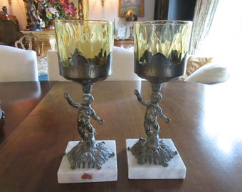 ITALY CHERUB CANDLE Holders