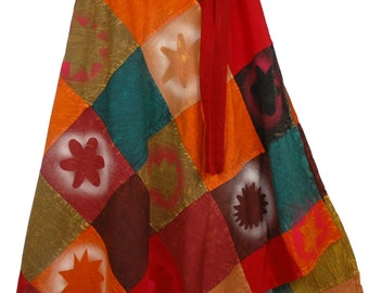Trinidad Fall Wrap Around Skirt