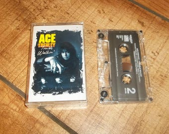 Ace Frehley  Cassette Tape,  Trouble Walkin, KISS Lead Guitar, Skid Row appearance, for your Sony Walkman Cassettes