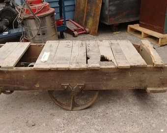 Salvaged Factory Cart #64