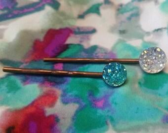 Iced Bobby Pin Set
