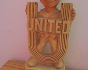 1957 United Fund Chalkware Award