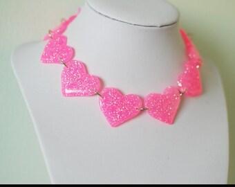 Love Bites Choker - Pink