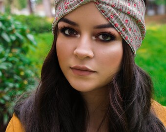 Woman's Headband, Boho Heaband, Twist Headband, Bohemian Headband, Spring Headband, Gifts for Her, Woman's Accessiories