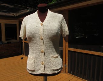 Karen Kane Short Sleeve Summer Cardigan
