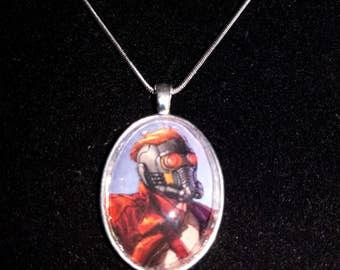 Marvel Guardians of the Galaxy Star-Lord Pendant