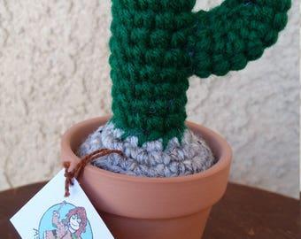 Baby Saguaro Cactus (Dark Green)