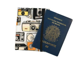 Photography Passport Cover, Passport Wallet, Passport Case, Passport Holder, Personalised Passport Cover with Boarding Pass Pocket