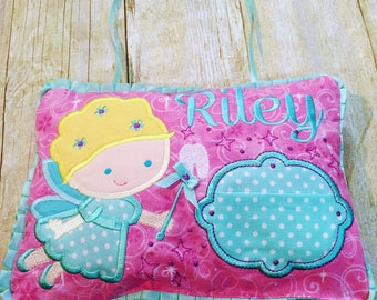 Personalized Hanging Tooth Fairy Pillow