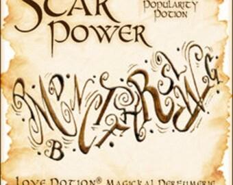 Sigil Collection 2015:  Star Power w/ Popularity Potion - Perfume Potion - Love Potion Magickal Perfumerie - Pheromone Enhanced