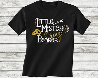 Funny Ring Bearer Shirt - Ring Bearer Gift - Kids Wedding Shirt - Ringbearer Gift - Ring Bearer Present - Rehersal Shirt - Ringbearer Outfit