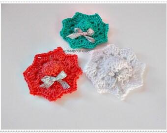 Crochet mini hat applique, Crochet Applique, Motif mini hat, craft supplies, Embellishment Crochet hat, scrapbooking, wedding decorations