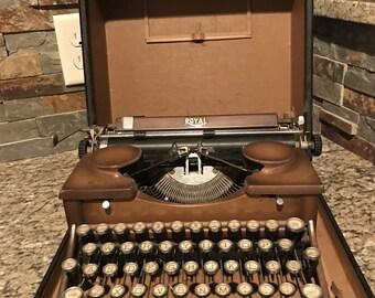 Royal Duotone Typewriter