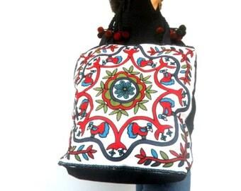 Tote bag Lady Women vintage Bag Ethnic bag Bohemian Bag Handbag Embroidery Bag Shoulder Bag Hippie Boho Purse