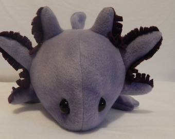 Purple  Axolotl Plush