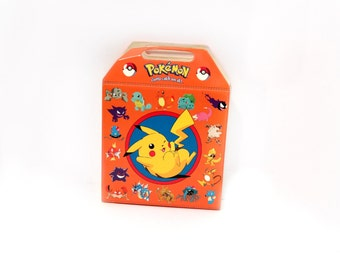 VNITAGE Pokemon VHS Travel Case - Comes with 4 vhs tapes!