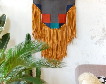 Handwoven Wall Hanging,  Tissage Mural,  Handmade Tapestry,  Boho Wall decor,