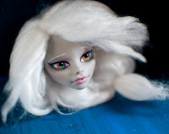 Monster High : Ghoulia Yelps Custom Doll Head