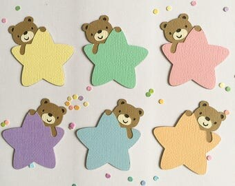Little Star Themed Die Cuts - Set of 12