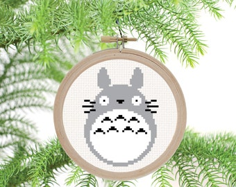 Totoro - PDF Cross Stitch Pattern