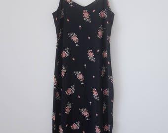 Vintage Long Floral Dress