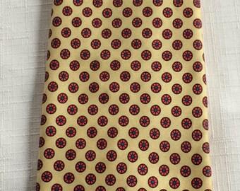 Polka Dot Necktie,Yellow Red Necktie,Yellow Necktie,Tan Red Necktie,Business Tie,Yellow Tie,Ivy League Tie,Conservative Tie,Business Necktie