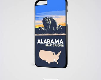 Alabama iPhone 6 Case Crimson Tide Samsung galaxy S6 Case iPhone 5S Case Alabama Roll Tide iPhone SE Case iPhone 7 Case iPhone 6S Plus Case